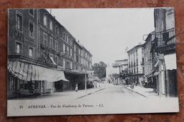 AUBENAS (07) - VUE DU FAUBOURG DE VERNON - Aubenas