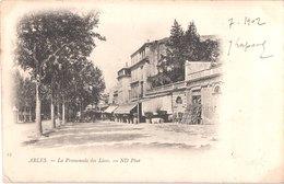 FR13 ARLES - Nd 15 - Précurseur - Promenade Des Lices - Animée - Belle - Arles