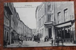 AUBENAS (07) - FAUBOURG GAMBETTA ET LA POSTE - Aubenas