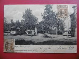 CHILE SANTIAGO PARQUE FORESTAL TRAMWAY TIMBRE CACHET - Chili