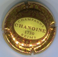 CJ-CAPSULE-CHAMPAGNE CHANOINE N°03 Lettres Marron - Champagne