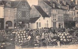 """¤¤  -   AUXONNE   -   Marché Aux Choux-Fleurs  -  Magasin De Vannerie """" MONIOT """"   -  ¤¤ - Auxonne"""