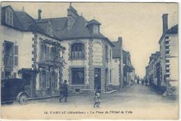 1 Cpa Carnac - L'hôtel De Ville - Carnac