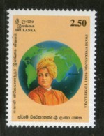 Sri Lanka 1997 Swami Vivekananda Religion 1v MNH # 1908 - Famous People