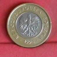 POLAND 2 ZLOTE 1994 -    KM# 283 - (Nº27291) - Pologne