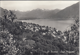 LOCARNO Lago Maggiore, Panorama Visto Dal Santuario MADONNA DEL SASSO Orselina - TI Tessin