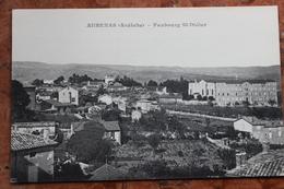 AUBENAS (07) - FAUBOURG SAINT DIDIER - Aubenas