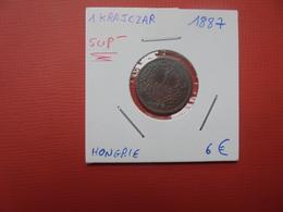 HONGRIE 1 KRAJCZAR 1887 SUP- (A.2) - Hongrie