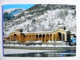 Post Card Ussr Armenia Postal Stationery Djermuk 1978 - Armenia