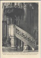 Cathedrale De LAUSANNE - La Chaire. Armoiries De Jean-Fodolphe Bucher, Trésorier Du Pays De Vaud, Et De Burkhard Fischer - VD Vaud