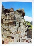 Post Card Ussr Armenia Postal Stationery 1980 Rocks - Arménie