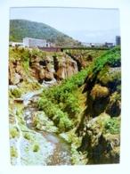 Post Card Ussr Armenia Postal Stationery 1980 Djermuk Bridge River - Arménie