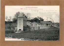 CPA - PUYOO (65) - BELLOCQ - Aspect Des Fours Pour La Transformation Du Calcaire En Chaux Par Calcination - 1923 - Andere Gemeenten