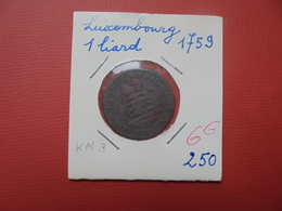 LUXEMBOURG LIARD 1759 (A.2) - Luxembourg