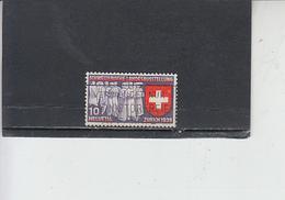 SVIZZERA  1939 - Unificato  326° - Expo - Svizzera