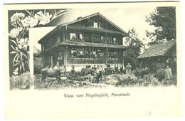 Gruss Vom Nägelisgärtli Morschach Mit Leben Melch. Fuchs 1904 - SZ Schwyz