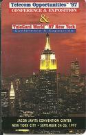 USA: MultiMedia Publishing - TeleCard World '97 Exposition New York - Vereinigte Staaten