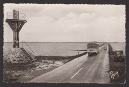 D 85 - NOIRMOUTIER - Passage Du Gois - Une Balise - CPSM Signée Rosy - Noirmoutier