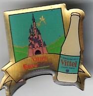 Rare Pin's Vittel Euro Disney - Disney