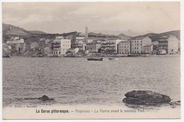 CPA 2A PROPRIANO La Marine Avant Le Nouveau Port - France