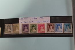 1928  /  1929     -   336  à   343*    MICHEL  1er   COTE  :  2€ - 1918-1948 Ferdinand I., Charles II & Michel