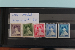 1930     -   371  à   375*    MICHEL  1er      COTE  :  8,00€ - 1918-1948 Ferdinand I., Charles II & Michel