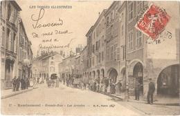 Dépt 88 - REMIREMONT - Grande-Rue - Les Arcades - B.F. N° 17 - LES VOSGES ILLUSTRÉES - Remiremont