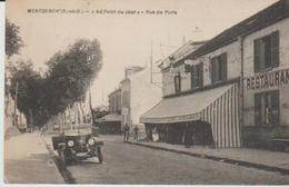 """91 (  Montgeron """"..au Point Du Jour  Rue De Paris. """" ) .. - Montgeron"""