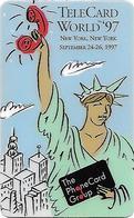 USA: Cable & Wireless - TeleCard World '97 Exposition New York - Vereinigte Staaten