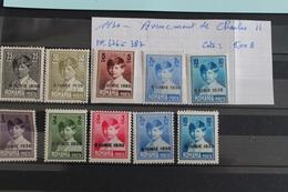 1930     -   376  à   387  *    AVENEMENT  DE  CHARLES  II   COTE  :  5,00€ - 1918-1948 Ferdinand I., Charles II & Michel
