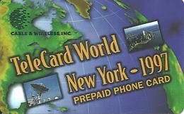 USA: Cable & Wireless - TeleCard World '97 Exposition New York - Etats-Unis