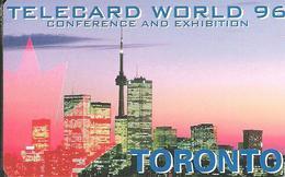 USA: Power TEL - TeleCard World '96 Exposition Toronto - Etats-Unis