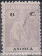 Angola Ceres 2: Mi 208C 6 C Grau Gestempelt - Angola