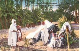 POSTAL    CAMPEMENT DE NOMADES - Postales