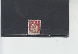 SVIZZERA  1908 - Unificato  126° - Helvetia - Svizzera