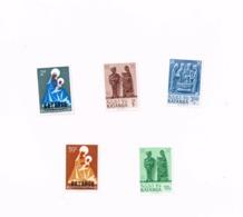 Lot De  5 Timbres MNH,Neuf Sans Charnière,Falzlos.Yvert 1,3,52,56,57 - Katanga