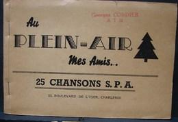 DH. 57. Au Plein Air Mes Amis. 25 Chansons S.P.A. - Documents Historiques