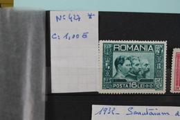 1931     -   427  *    ROIS  COTE  :  1,00€ - 1918-1948 Ferdinand, Charles II & Michael
