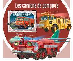 Djibouti. 2018 Fire Engines. (608b) - Firemen