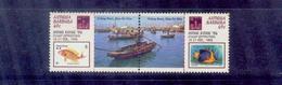 Antigua-barbuda/1994 Fishing/very Nice - Poissons
