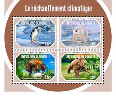 Djibouti. 2018 Global Warming. (603a) - Pingouins & Manchots