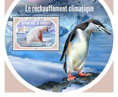 Djibouti. 2018 Global Warming. (603b) - Pinguïns & Vetganzen