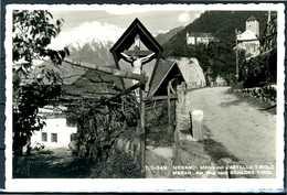 MERANO (BZ) - Motivo Col Castello Tirolo - Cartolina Viaggiata Anno 1953 - Merano