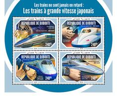 Djibouti. 2018 Japanese Speed Trains. (605a) - Trains