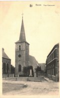 BERZéE   Place Communale. - Philippeville