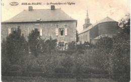 BOIS DE VILLERS    Le Presbytère Et L' église. - Profondeville