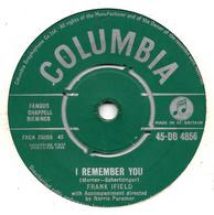 """Frank Ifield  """"  I Remember You  """" - Vinyles"""