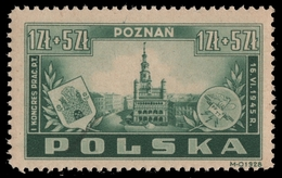 Polen 1945 - Mi-Nr. 403 ** - MNH - Kongress Posen - Polen