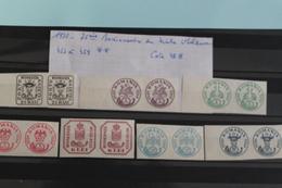 1932     -   453  à  459 **    75ème  ANNIVERSAIRE  DU  TIMBRE  DE  MOLDAVIE      COTE  :  48,00€ - 1918-1948 Ferdinand, Charles II & Michael