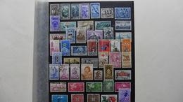 ITALIE   :48 Timbres Oblitérés - Collections